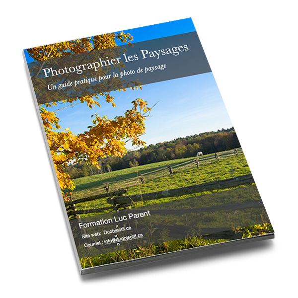 Photo guide paysage